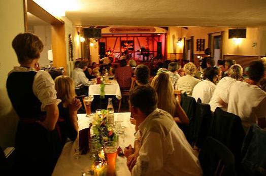 Theatersaal im Eventgasthaus Löwen im Wolfegg-Rötenbach