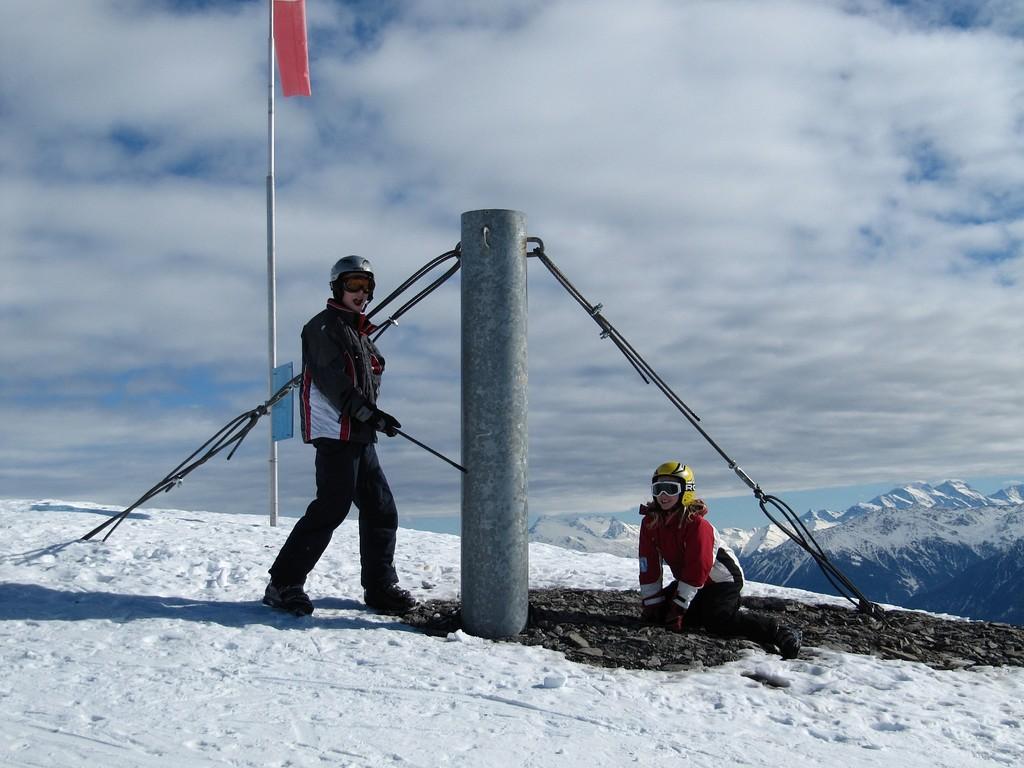 Michel und Melanie auf 2660m Höhe!