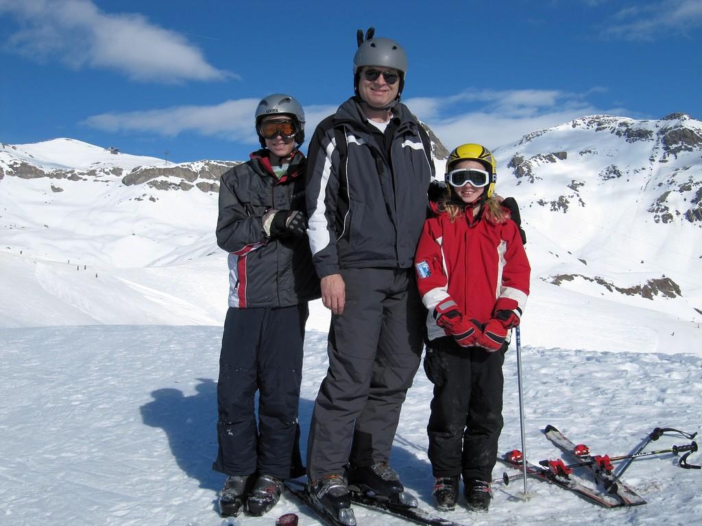 Michel, Hanspeter und Melanie in Pose!