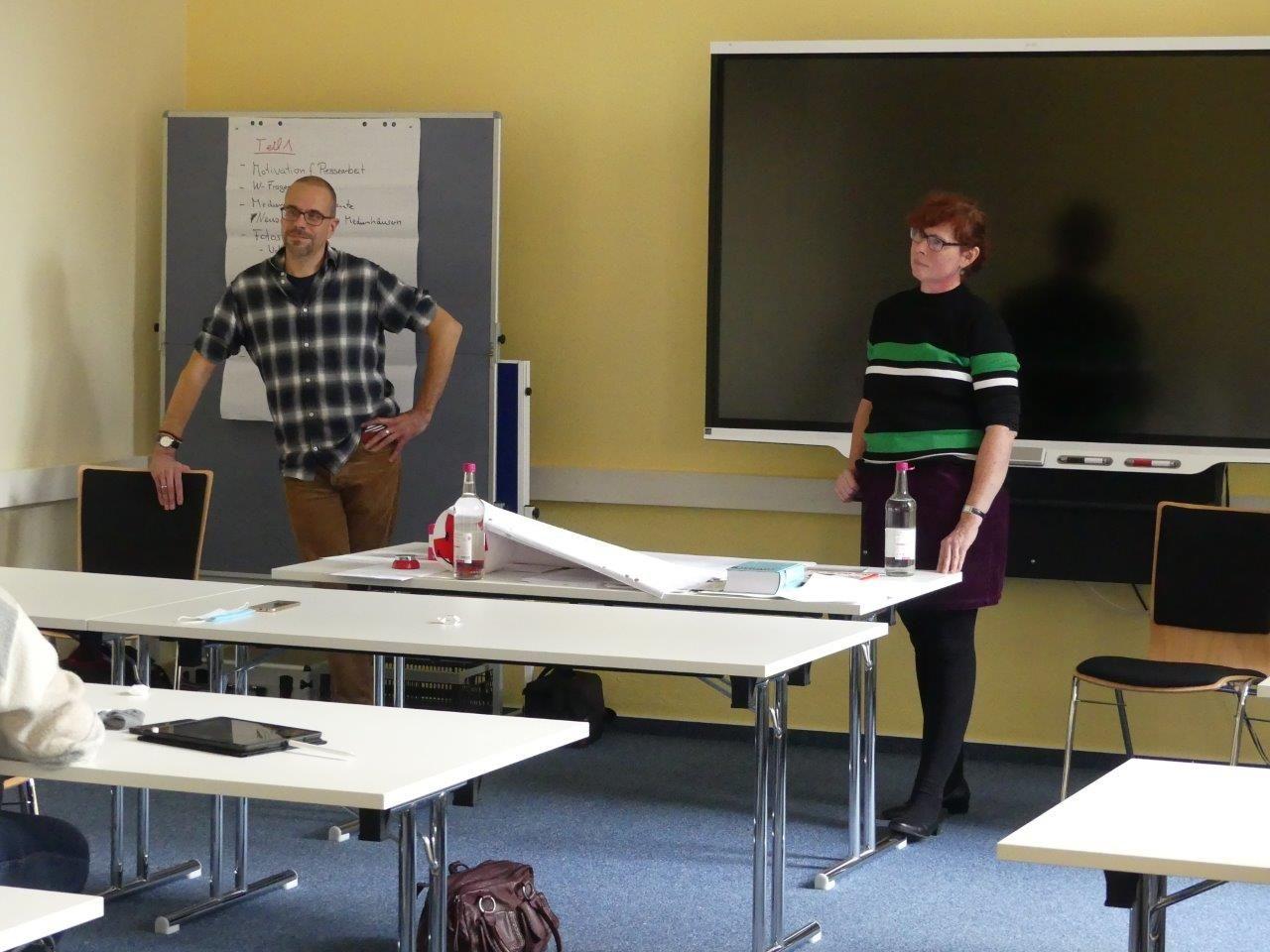 Impressionen aus einem gemeinsamen Workshop mit Thomas Achenbach bei der VHS Lingen (Copyright dort) im September 2020