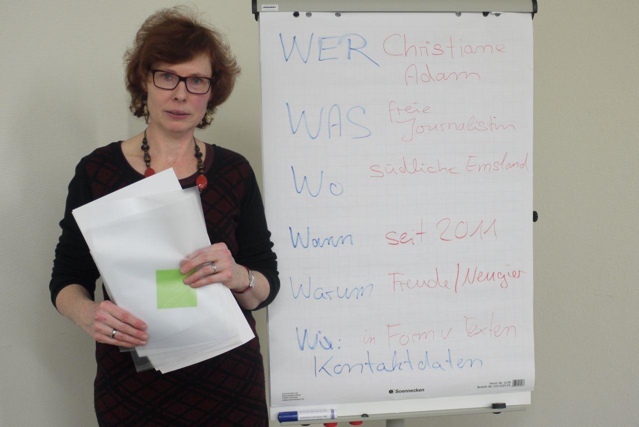 Impressionen aus einem Workshop bei der Emsland GmbH im Februar 2016