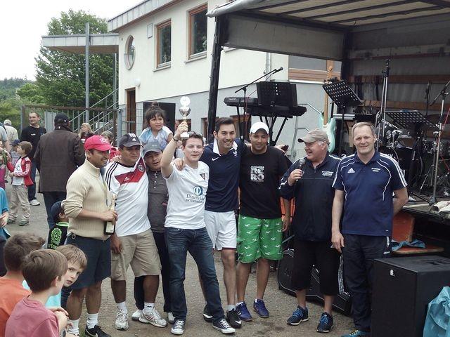 Turniersieger Herren die Latinos aus Stuttgart