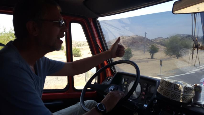 """Fit für die Hitze der Wüste """"Große Kavir"""" mit Folien"""