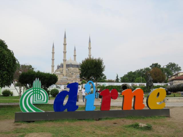 EDIRNE - die große Moschee mit Bazar