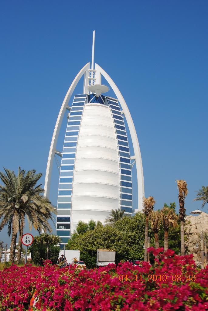 """Im Burj al Arab gönnten wir uns ein """"Dinner"""""""