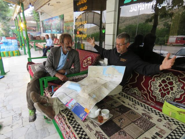 Der Iran ist soooo groß...!