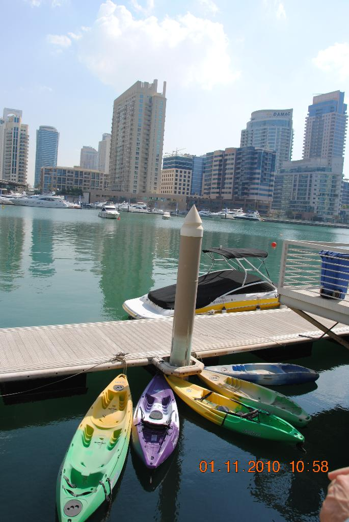 Dubai Marina - sehenswert!