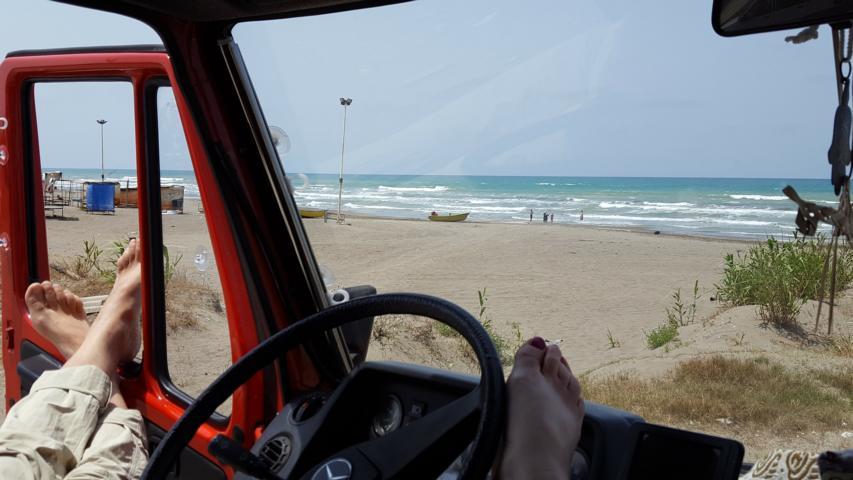 Pause am Strand / Schwarzes Meer