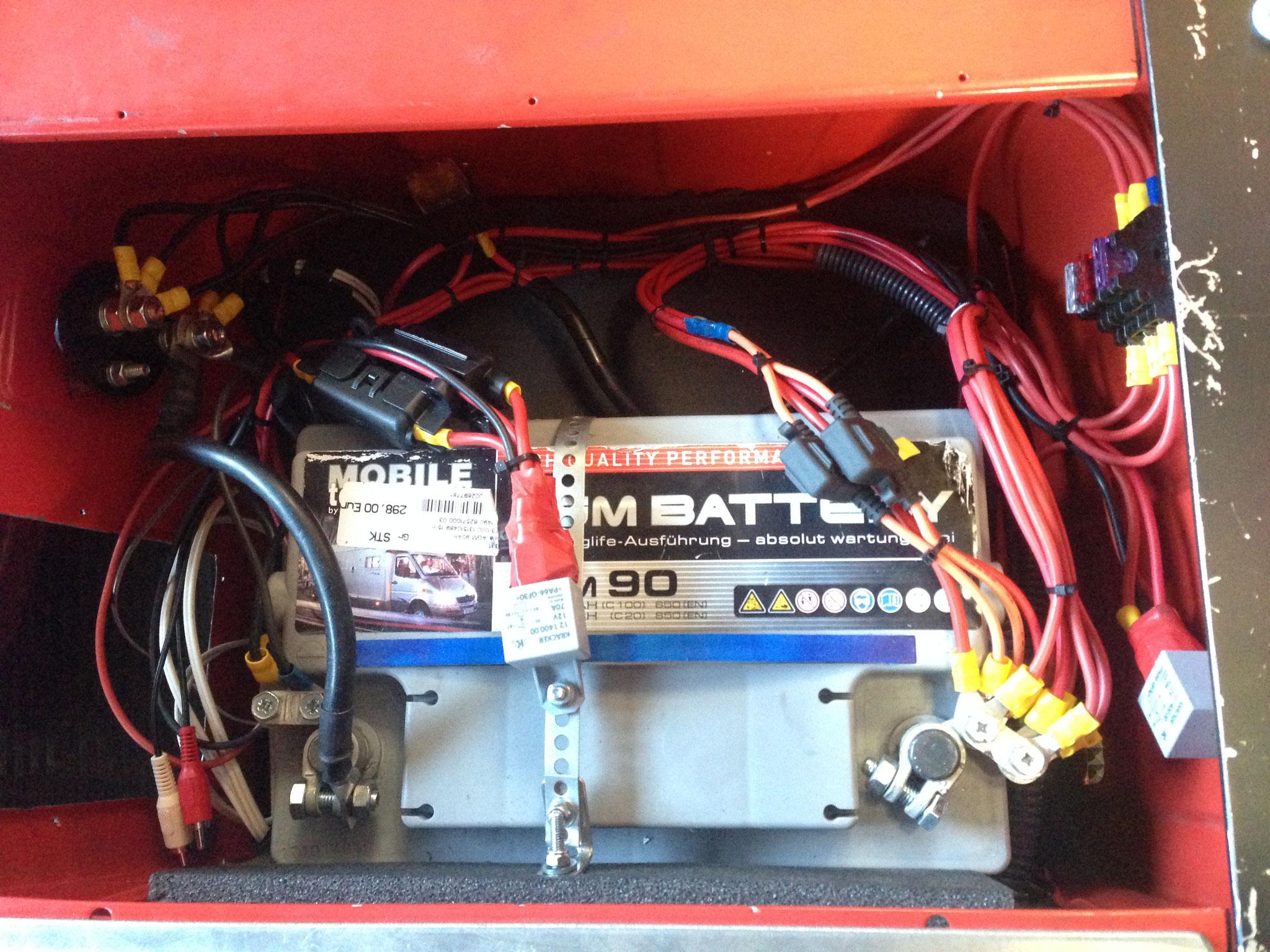 Neben der Starterbatterie brauchen wir auch eine Bordversorgung - Kleinkraftwerk?!