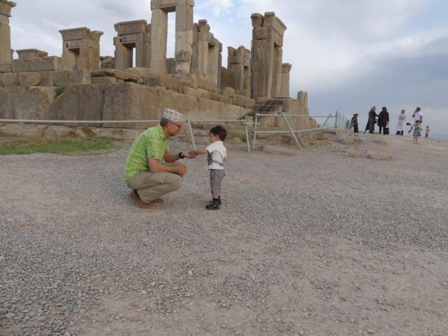 PERSEPOLIS - ein Geschenk für Stephan: Steine