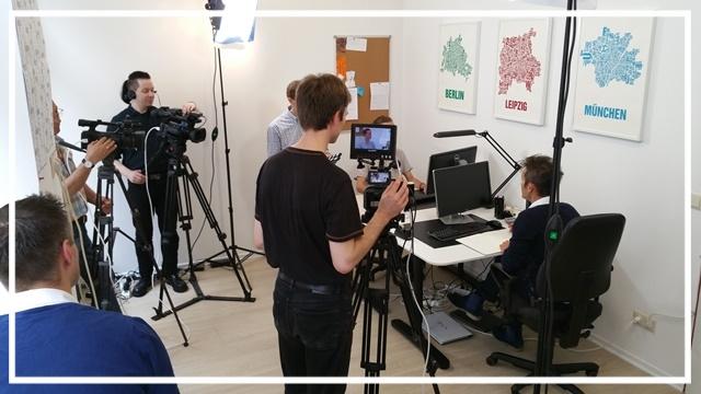 Produktion von Learning nuggets und Trainingsvideos in Leipzig und deutschlandweit