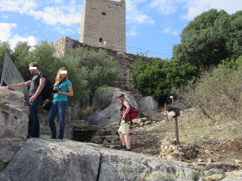 """Aufstieg zum """"Castelo dela Fava"""""""