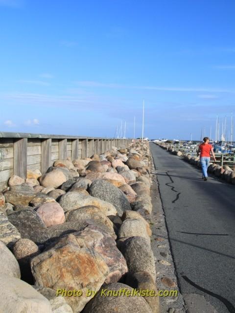 Saeby Hafen Weg