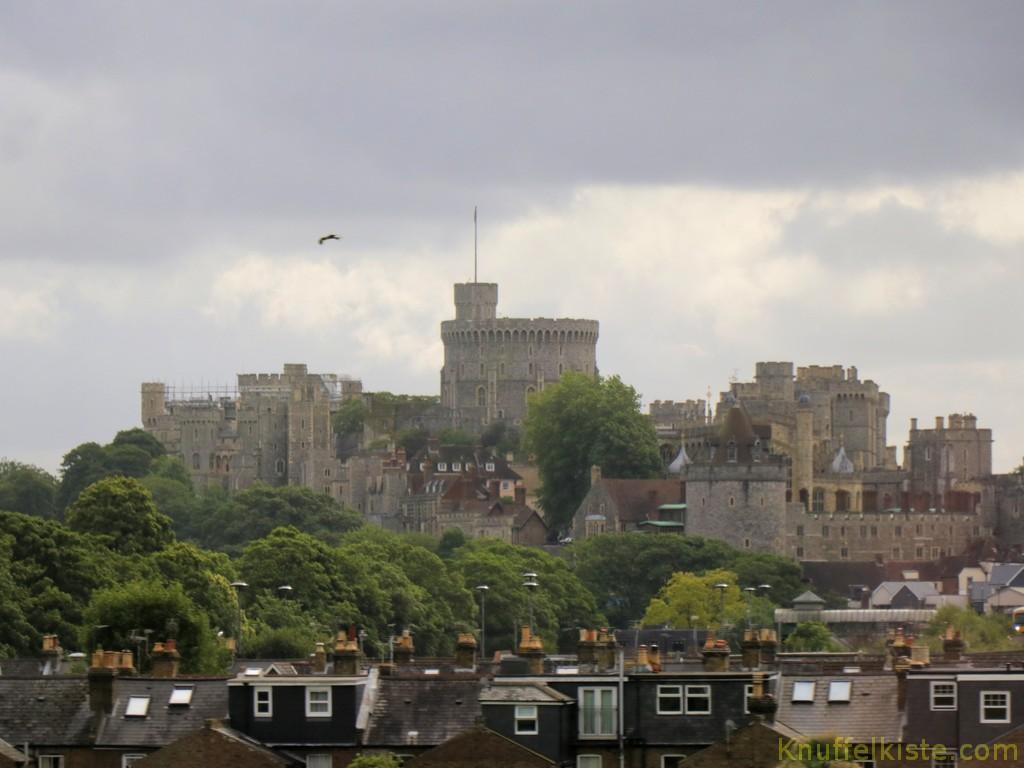 Anfahrt zum Winsor Castle!