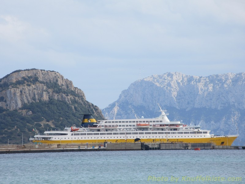 """Sardinia Ferries"" in ""Golfo Aranci"""