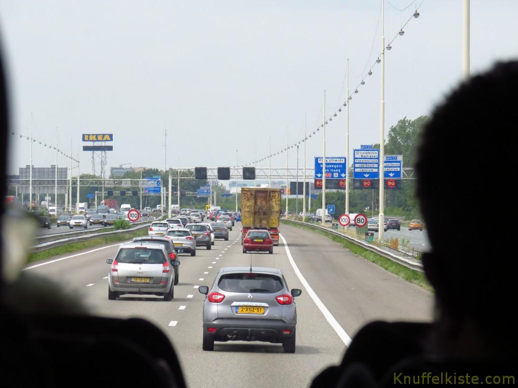 schon in den Niederlanden!