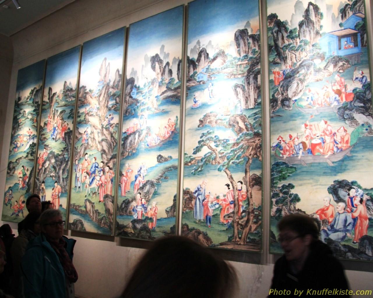 Wandtapete aus China