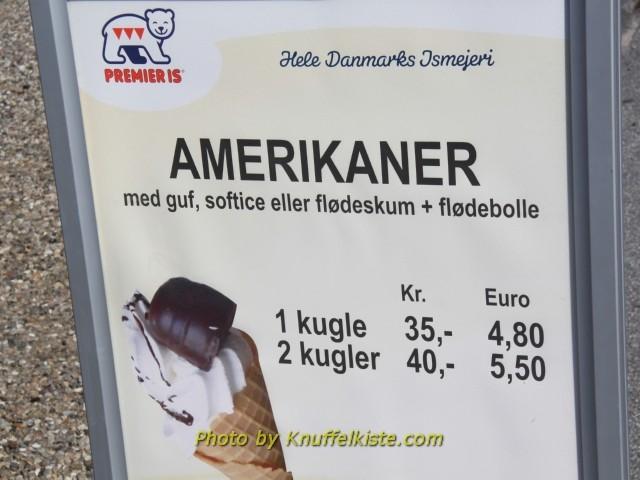"Preise in Hafneby echt brutal! ""Kugel"" heisst hier ""Kugler"",wie passend!"