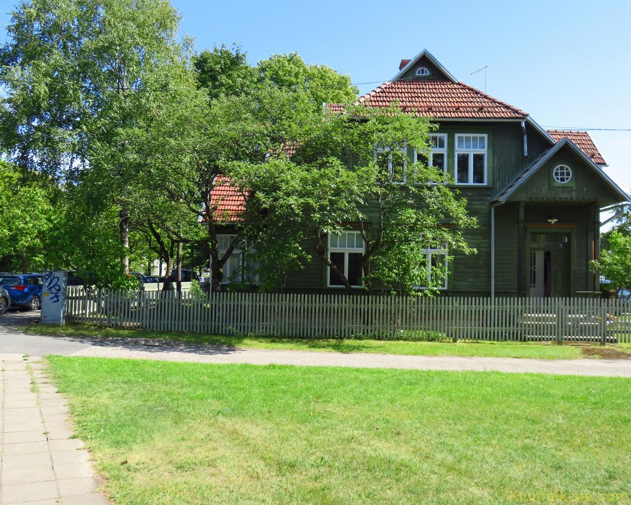 schöne Häuser in Pärnu