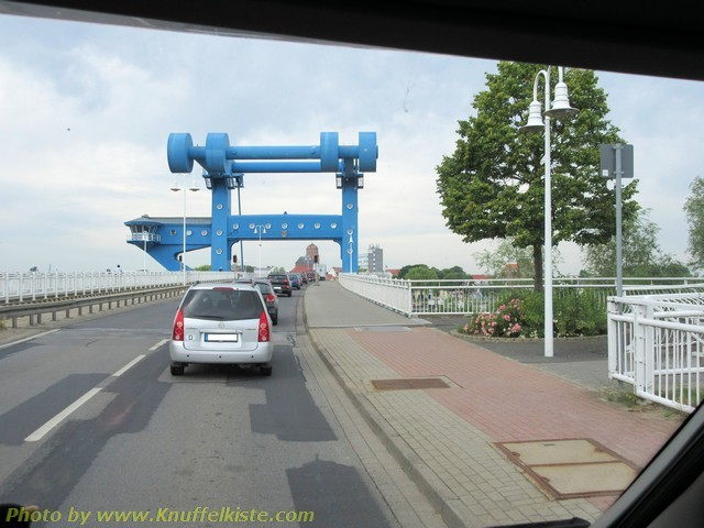 Usedomer Brücke richtung Festland