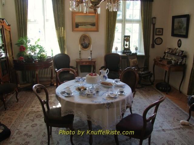 Nachgebauter Raum im anderen Haus aus dem 18.Jh.