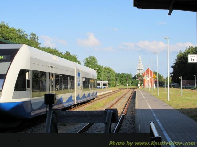 ...mit der UBB Usedomer Bäder Bahn