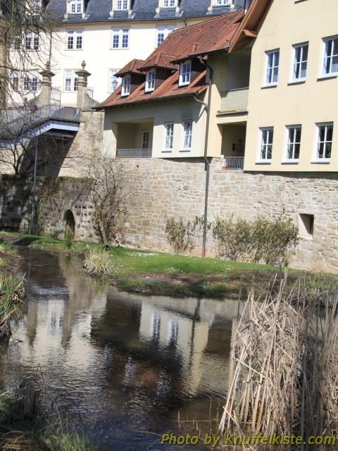 Im Hofgarten, die alte Stadtmauer