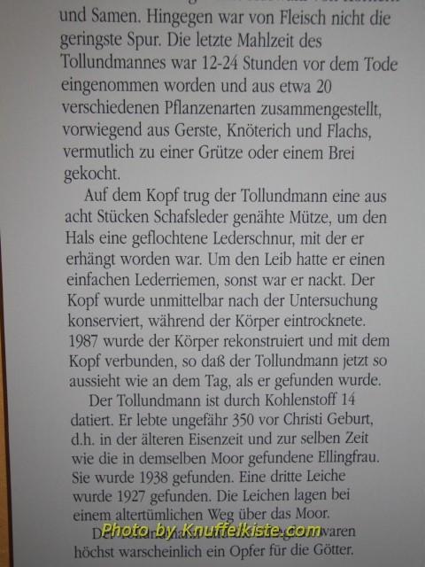 """Erklärung 2 zum """"Tollundmann"""""""