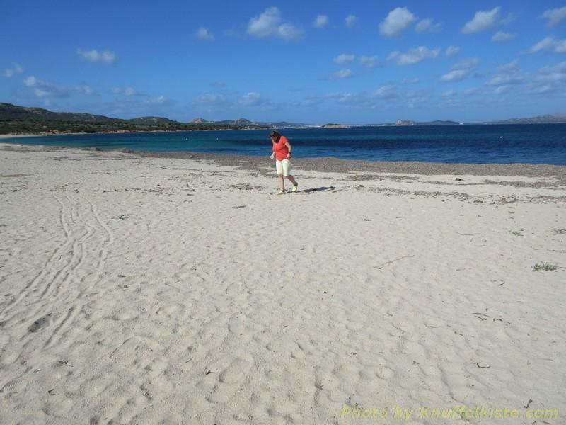 weiter Strand am anderen Ende