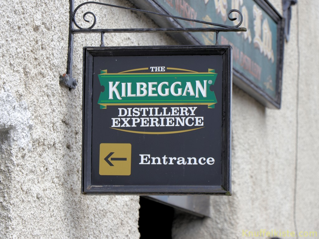 zur Killbeggan Distillery!