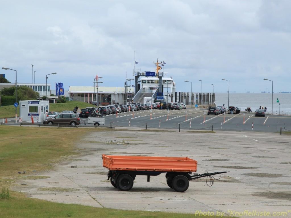 Der Hafen kommt in Sicht
