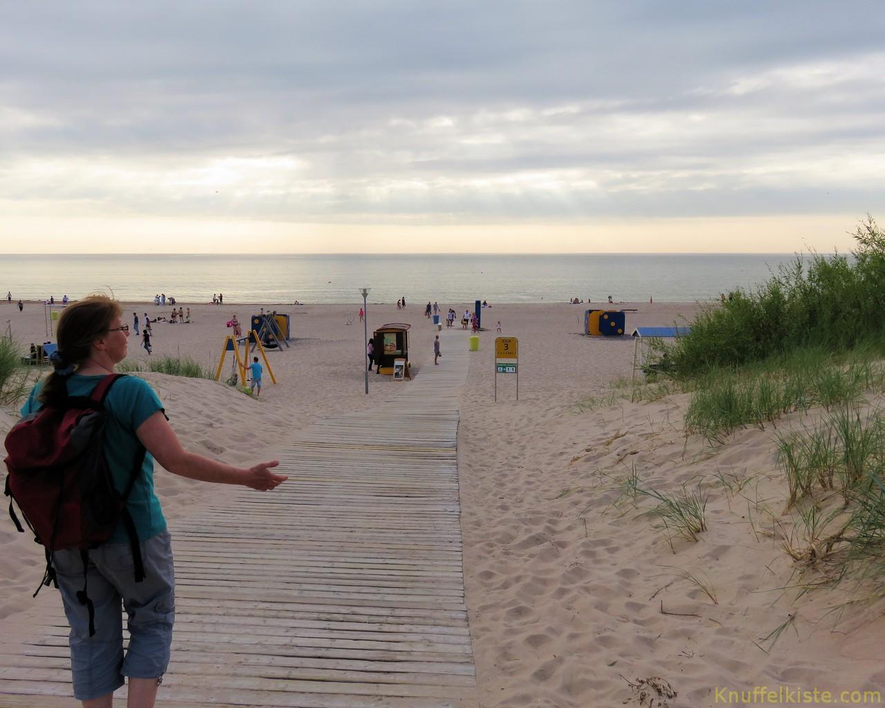 Strand von Ventspils