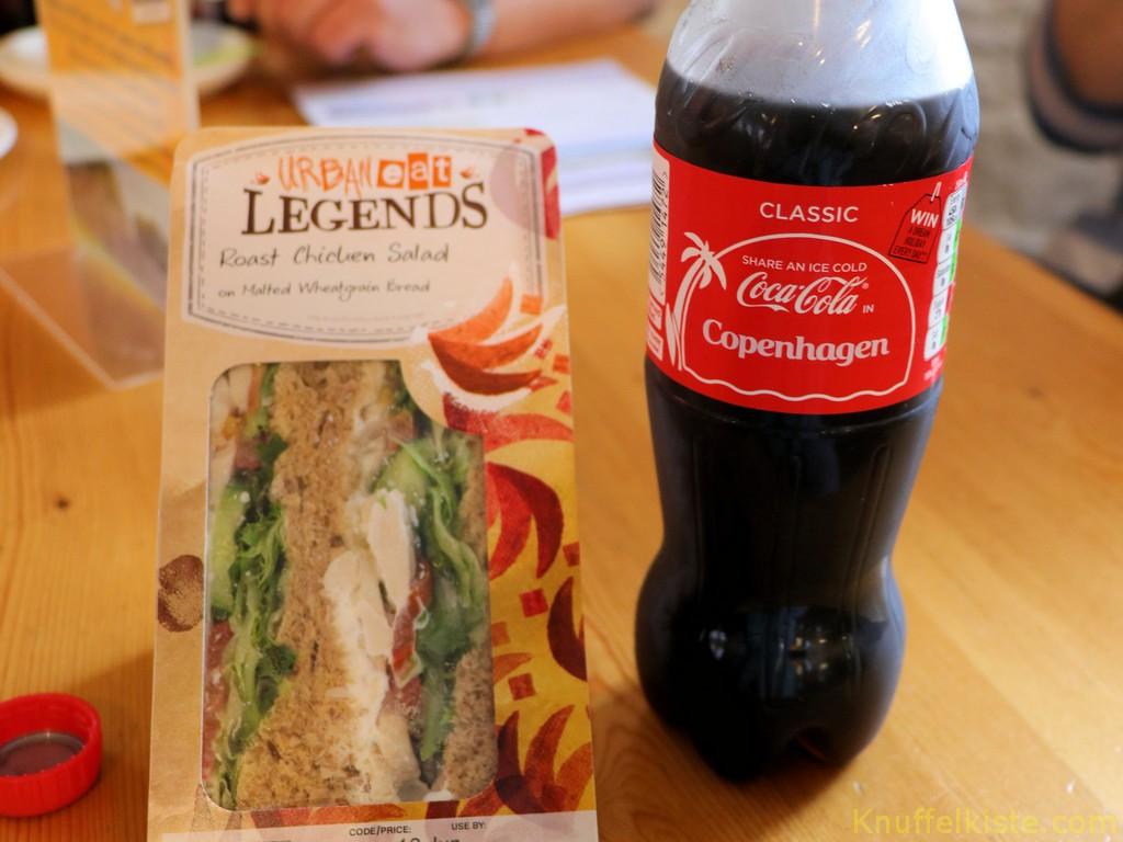 Zeit für den Mittagssnack!