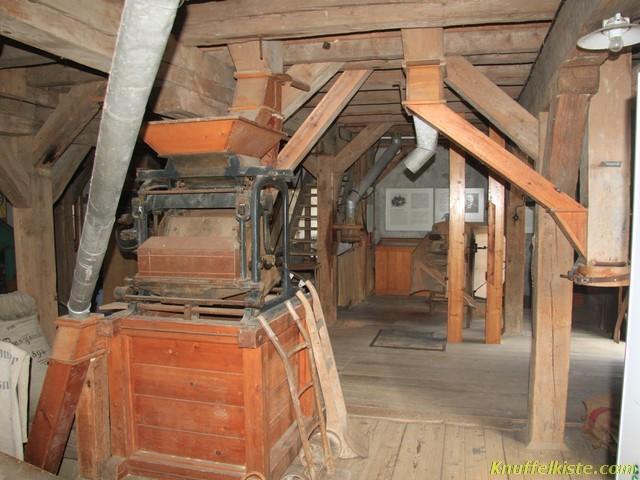 im Innern der Mühle