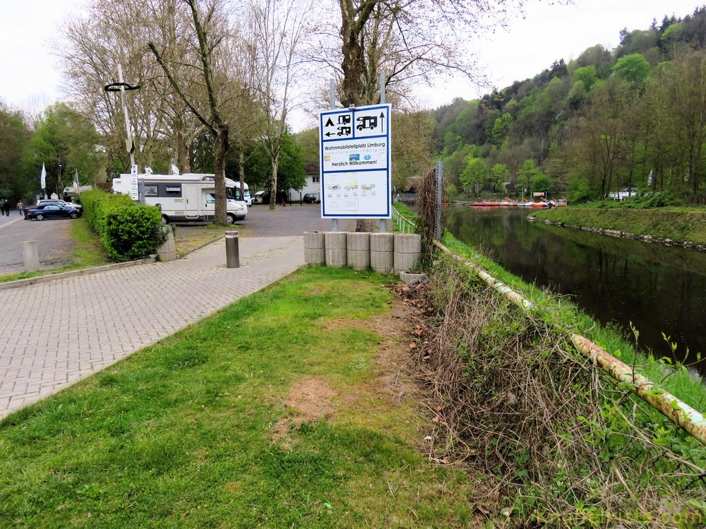 der Stellplatz in Limburg