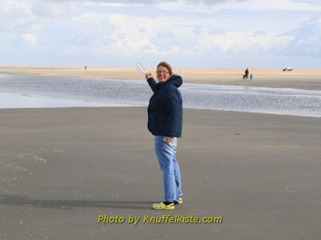 Gabi sucht die Nordsee !