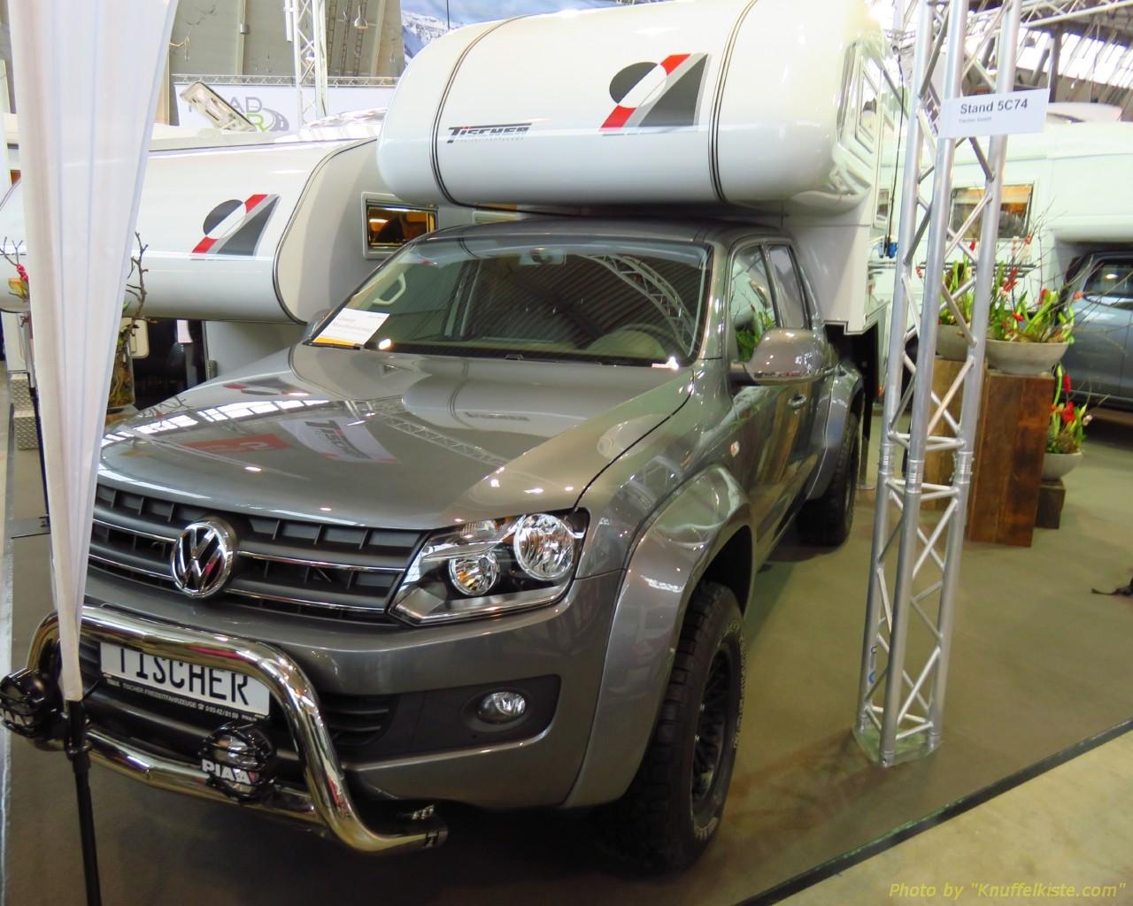 VW Amarok mit Tischer Kabine