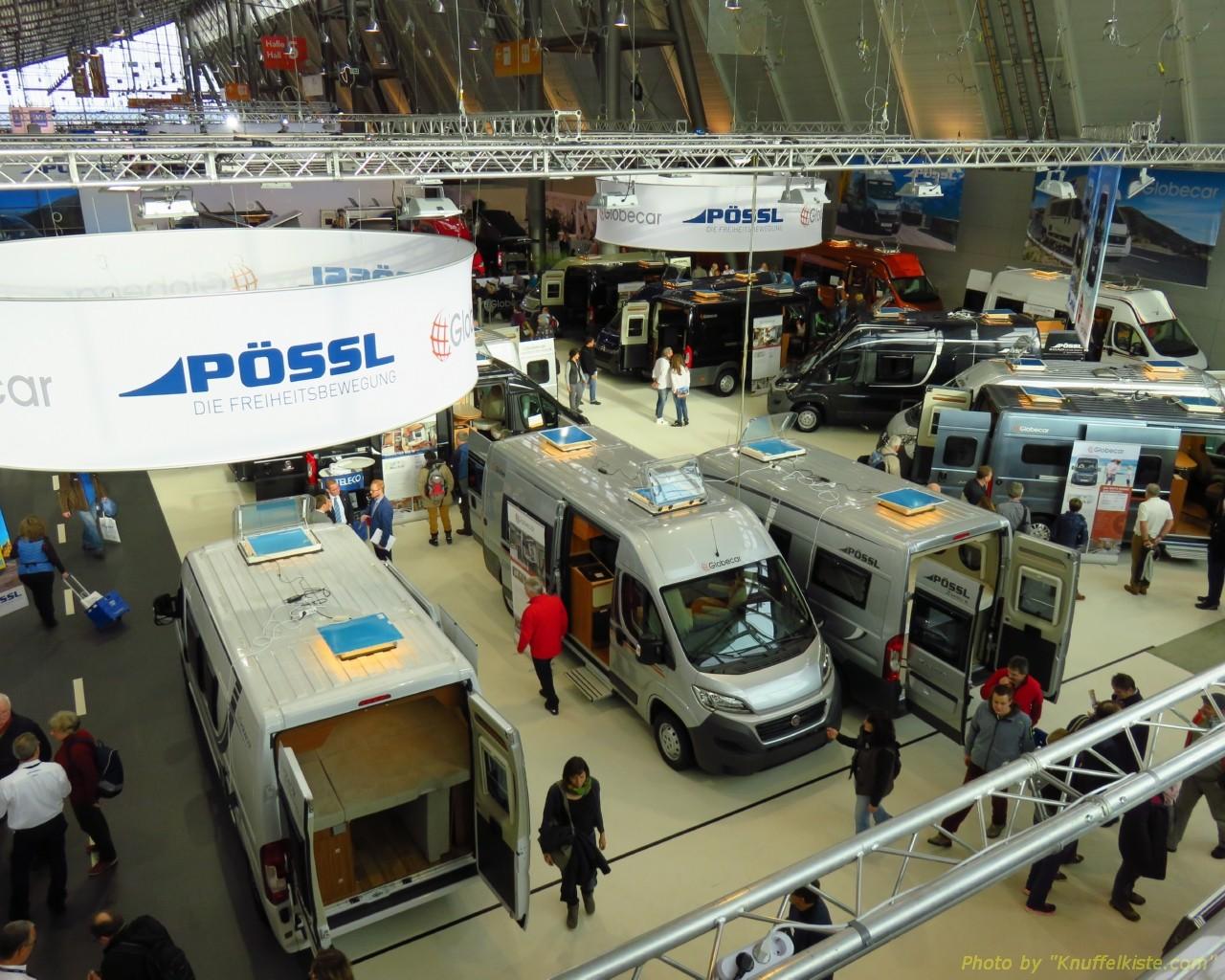 Halle 5 - Pössl/Globecar Messestand!