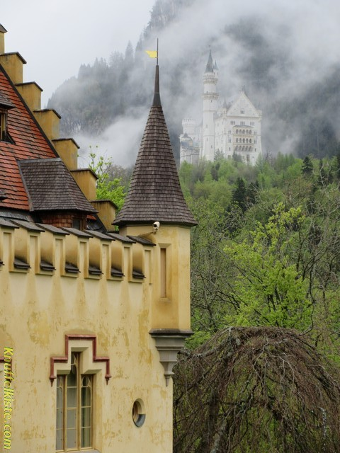 Blick Richtung Schloss Neuschwanstein