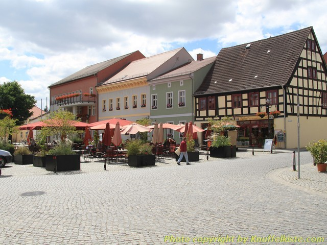 Marktplatz in Lübbenau