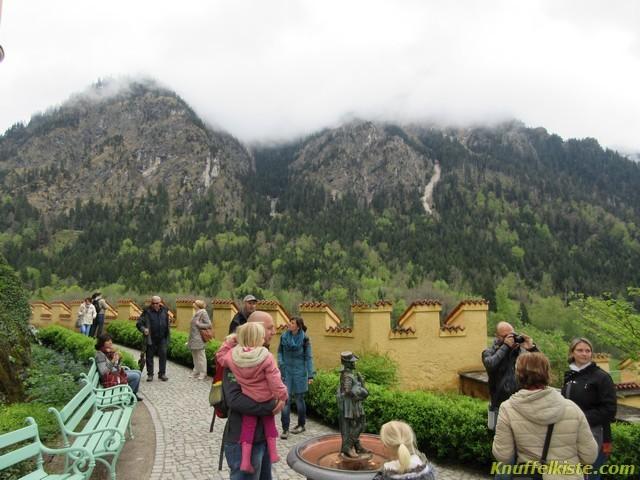Auf Schloss Hohenschwangau