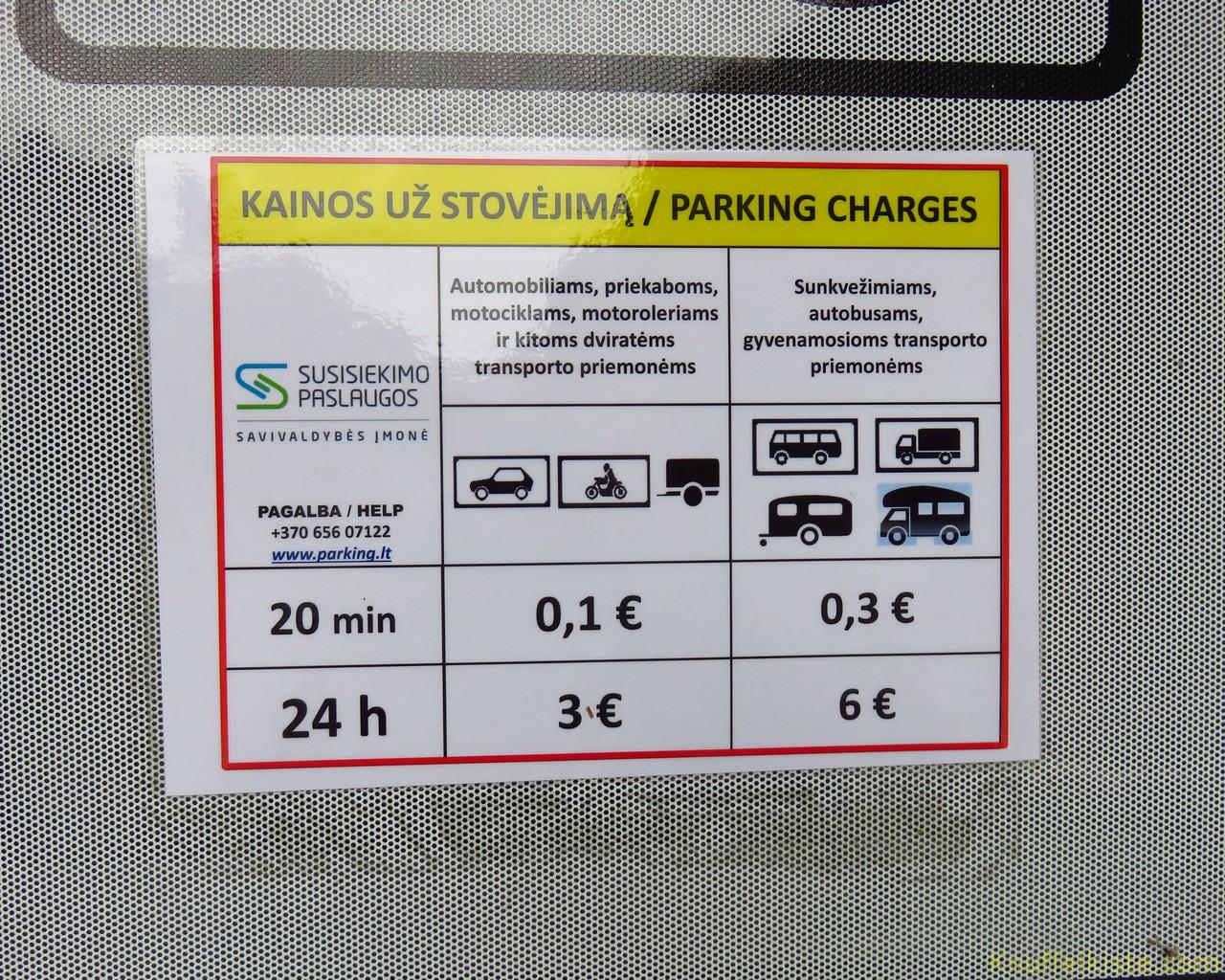 6 Euro 24 Std. für Wohnmobile