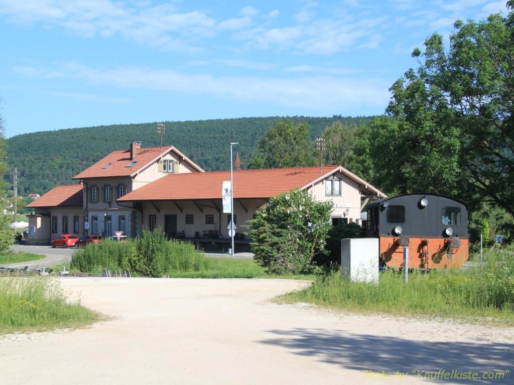 Bahnhof in Blumberg