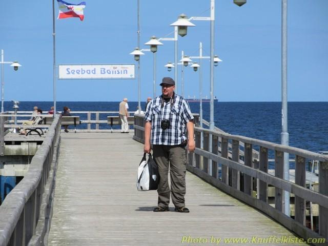 Joe auf der Seebrücke