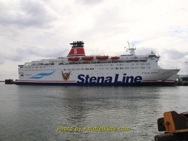 Im Hafen von Frederikshavn