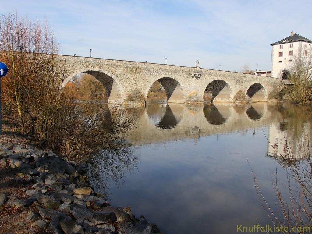 Brücke an der Lahn