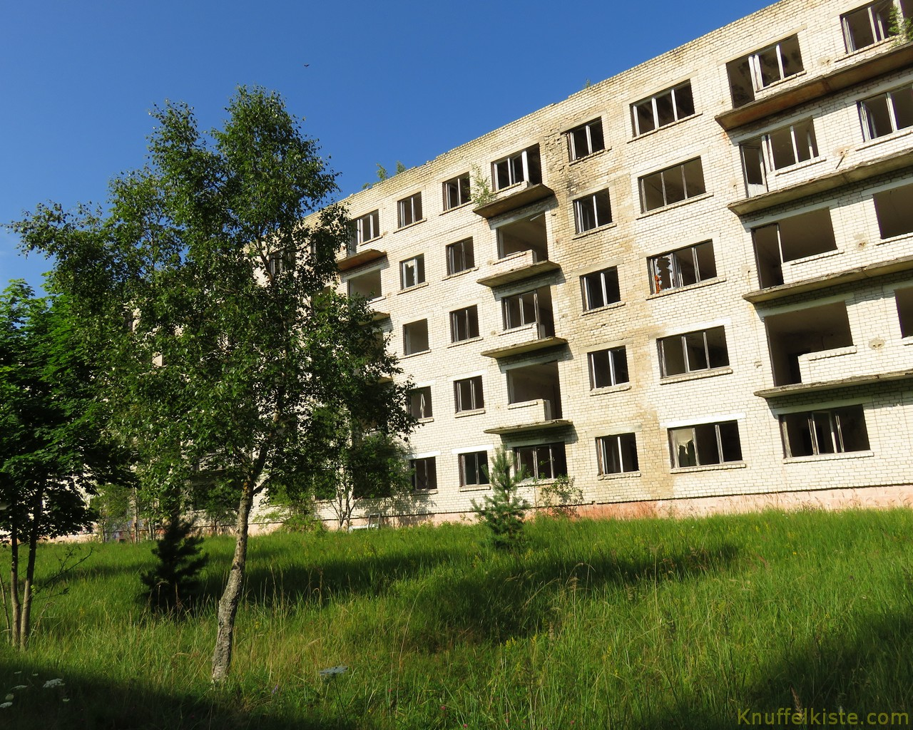 Ruinen aus Sowjet-Zeiten
