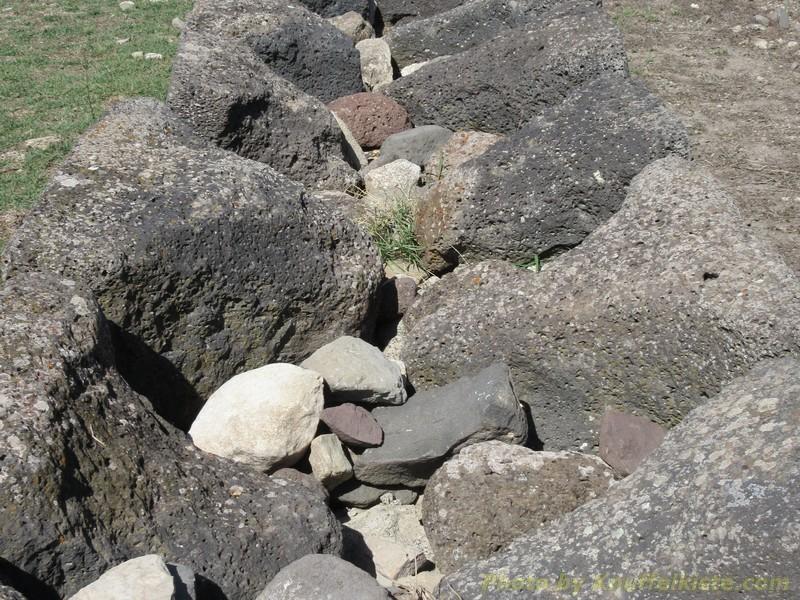 Nachbau der Mauern