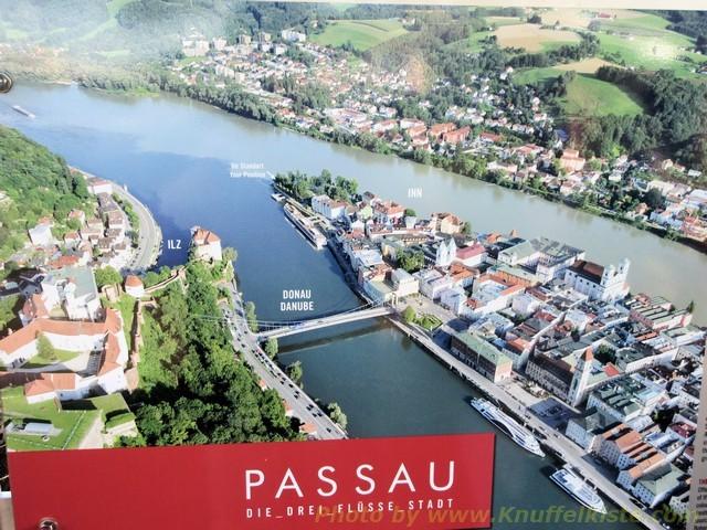 Schild von Passau