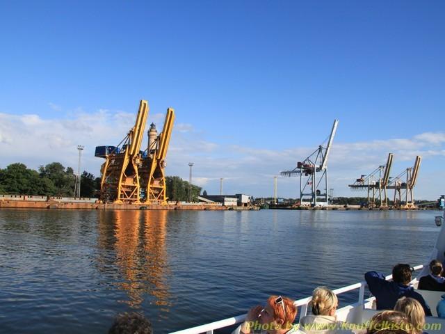 Hafeneinfahrt Swinemünde